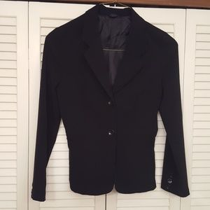 MAURICES BLACK BUTTON FRONT BLAZER - SIZE 9/10